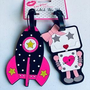 Betsey luggage tag set